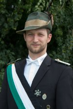 2. Fahnenoffizier Christian Sträter