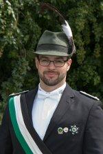 Bannerträger Christoph Dustert