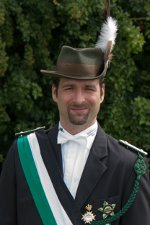 1. Fahnenoffizier Matthias Sträter