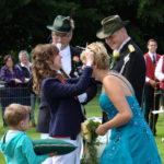 Krönung von Königin Anja Rocholl