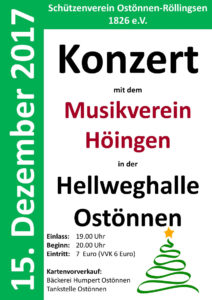 Konzert Plakat 2017