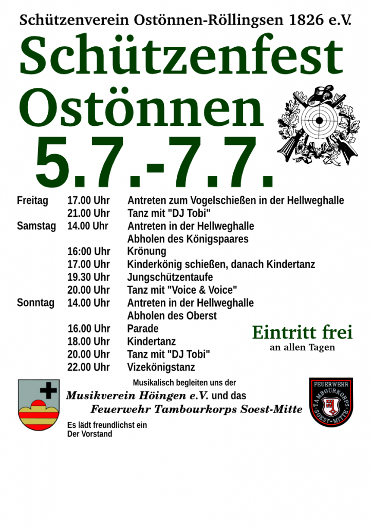 Schützenfest Ostönnen 2019